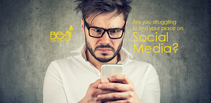 Are you struggling to find your place on Social Media?